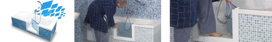 vasca sportello laterale